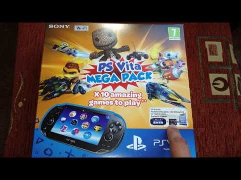 PSVita Mega Pack (10 Free Games!) Unboxing
