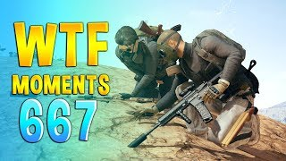 PUBG WTF Funny Daily Moments Highlights Ep 667