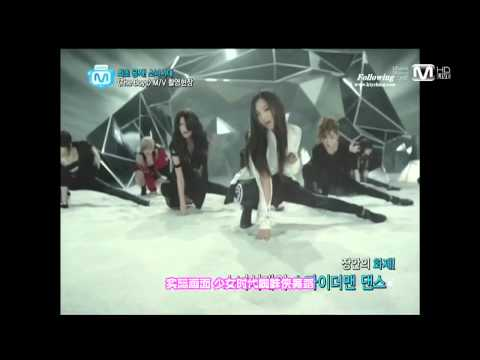 【中字】111027 Snsd  The Boys Mv 拍攝花絮 Wide Open Studios video