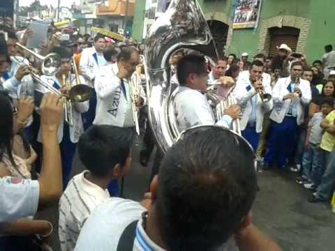 banda libertad vs banda azul san gregorio atlapulco 2014