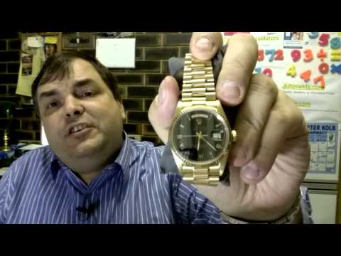 IMPORTANT ANNOUNCEMENT - Archie Removes the 2 Gold Rolexes from the market