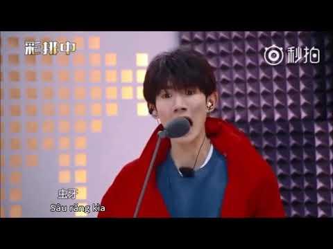 [Vietsub][10.3.2018] Vương Nguyên - CHÊ GÁI XẤU =)) |Lồng tiếng dễ thương nhất quả đất thumbnail
