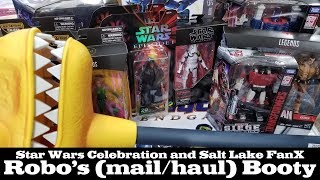 Robo's (mail/haul) Booty: 3,500 Mile Toy Hunt between Star Wars Celebration '19 and Salt Lake FanX