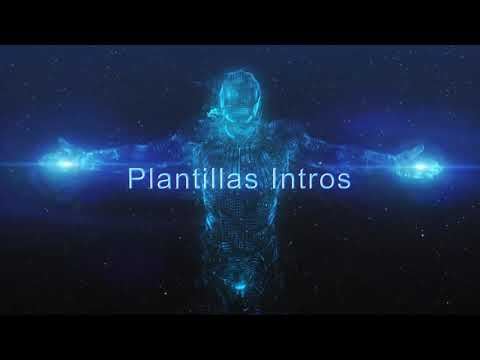 Intro Iron man holograma - Plantilla editable After Effects (HD)