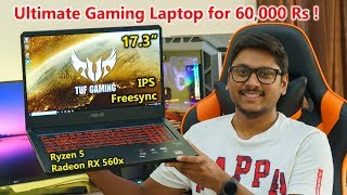 Ultimate Gaming Laptop for Rs 60,000 | Ryzen 5 & Radeon RX 560X Beast