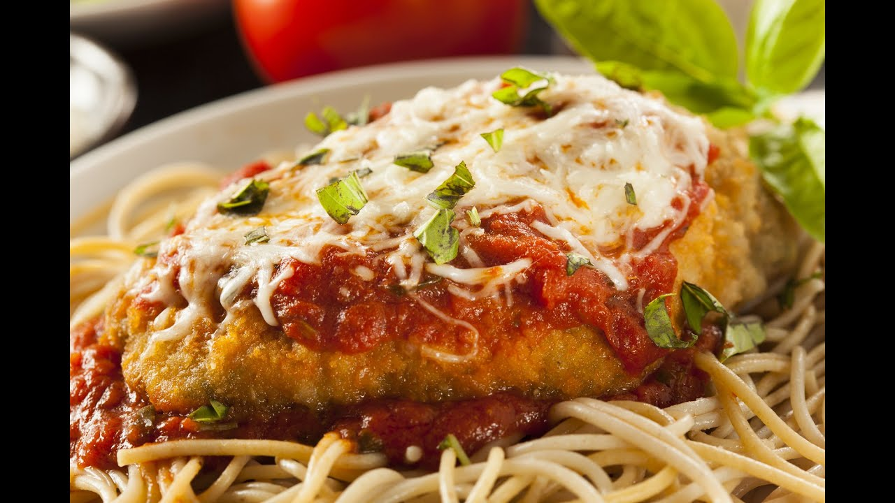 How To Make Chicken Parmigiana Youtube