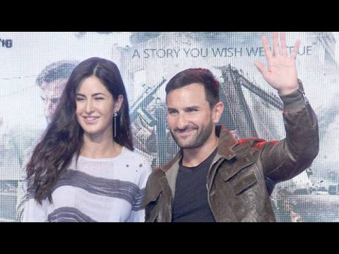 Katrina Kaif & Saif Ali Khan Promote Film Phantom At Nm College Festival Umang