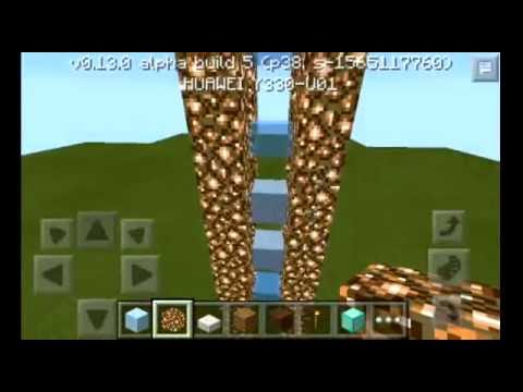 Como hacer un elevador en Minecraft PE 0.13.0