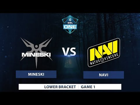 Mineski vs Navi | Game 1 | ESL One Genting 2018