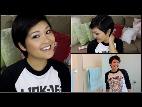 How To Style A Pixie Cut ❤