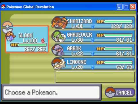 Como Chegar a caverna do Onix´s Pokemon Global Revolution