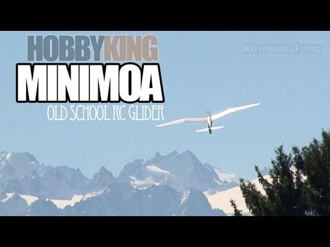 MHF/RC REVIEW/ Minimoa - old school RC Glider by Hobbyking