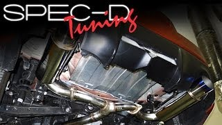 SPECDTUNING INSTALLATION VIDEO: 2013-UP FR-S & BRZ CATBACK EXHAUST