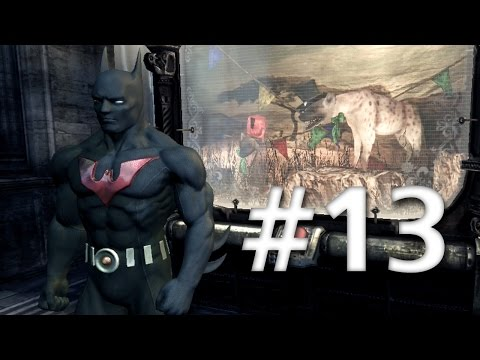 Road To Arkham Knight - Batman Arkham City - Walkthrough - Part 13 - Penguin's War Room
