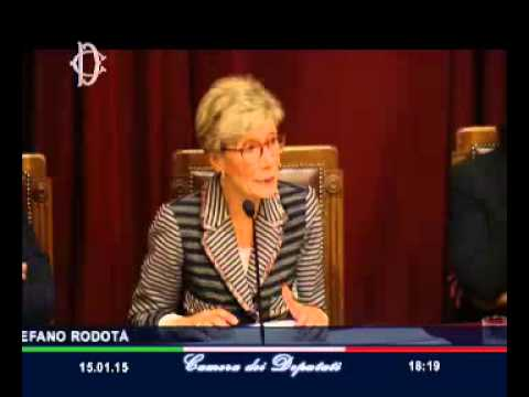 """Roma - Rodotà, """"Solidarietà, un'utopia necessaria"""" (15.01.15)"""