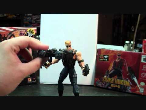 Duke Nukem Figure Reveiw