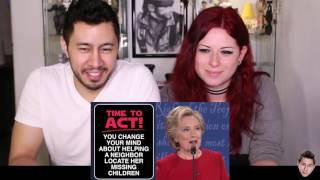 BAD LIP READING: DEBATE NIGHT First Presidential Debate REACTION