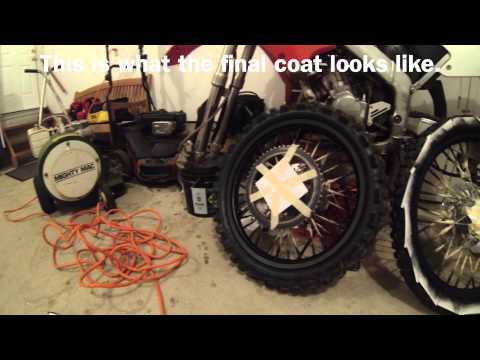 How To Plasti-Dip Motocross Rims