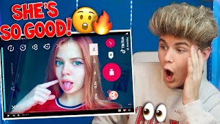 Download Lagu REACTING TO THE *BEST* MUSICAL.LY TIKTOK TUTORIALS (MUST WATCH) INSANE TRANSITIONS 2018 Gratis STAFABAND