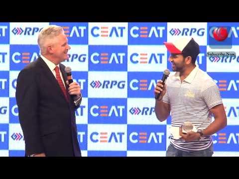 CEAT Cricket Awards 2014 15 | Rohit Sharma