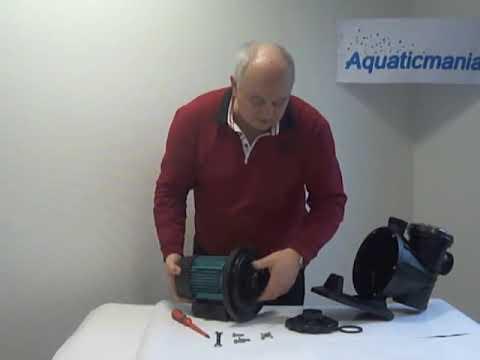 Aquaticmania propose le démontage d'une pompe de piscine ESPA