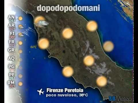 Meteo Italia a 3 giorni del 19/08/2012