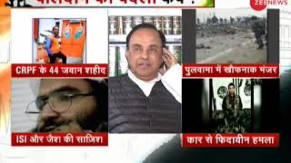 BJP leader Subramanian Swamy on Pulwama terror attack