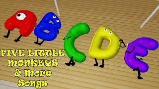 Five Little Monkeys & More Songs | Kids Songs | Nursery Rhymes | Baby Songs | Children Songs