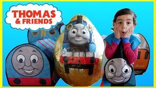 GIANT EGG SURPRISE OPENING Thomas and Friends Toys GIANT Surprise Egg Worlds Biggest Surprise Egg