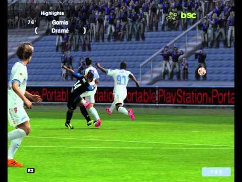 Bafetimbi Gomis - Beautiful volley shot against Zenit St. Petersburg