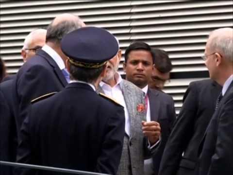 Indian PM Modi visits France's space centre