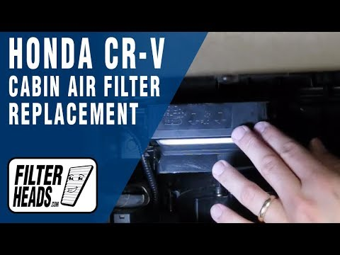 Cabin Air Filter Replacement Honda Cr V Youtube