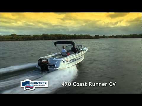 лодка quintrex 475 coast runner на видео