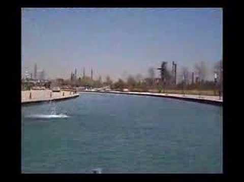 paseo santa lucia. Paseo Santa Lucía (el rio