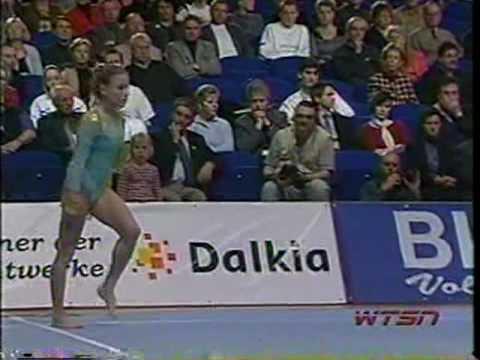 evgenia kuznetsova 2002 cottbus floor exercise youtube