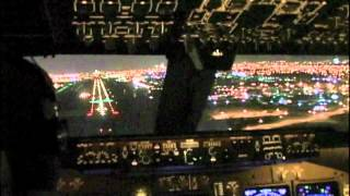 747-400 Goes Around on Very Short Final! (Miami)
