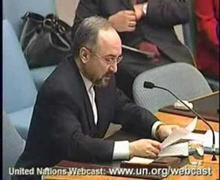 Iran Ambassador on Nuclear Issue to UN Security Council 1/4