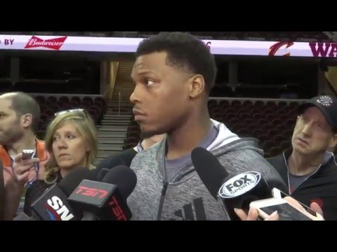 Raptors Shootaround: Kyle Lowry - May 19, 2016