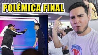 WOS VS ACZINO | MI OPINIÓN Y VIDEO REACCIÓN (Final internacional Red Bull Batalla de los Gallos)