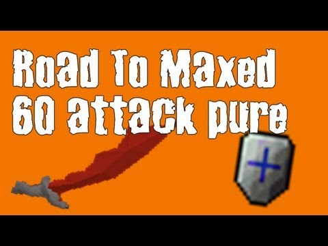 - Tesco – Road To Maxed 60 Attack Pure #3 – [ RuneScape 2007 ]