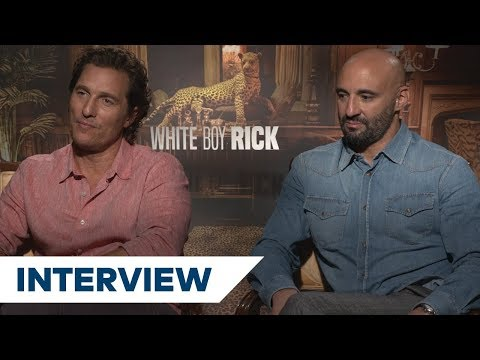 Matthew McConaughey & Yann Demange On Meeting The Real-Life White Boy Rick | TIFF 2018