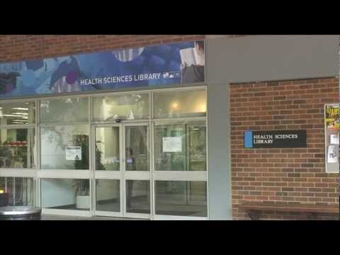 Health Sciences library virtual tour