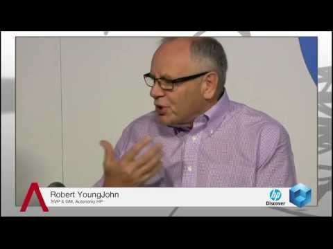 Robert YoungJohn - HP Discover 2013 - theCUBE - #HPDiscover