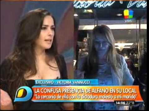 Vannucci explicó por qué echaron a Alfano: Ella estuvo vinculada a los militares