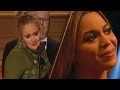 Adele REFUSES Album of the Year Award at 2017 Grammys, Makes Beyonce CRY w Sweet Acceptance Speech -