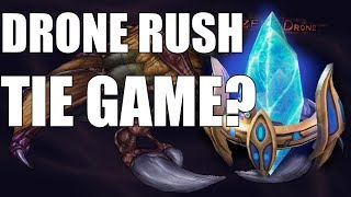 STARCRAFT 2 | THE DRONE RUSH TIE GAME?? (ft. Anime Discussion)