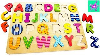 Learn English Alphabet A to Z   Learn ABC with Pictures for Children   Funny Alphabet for Kids