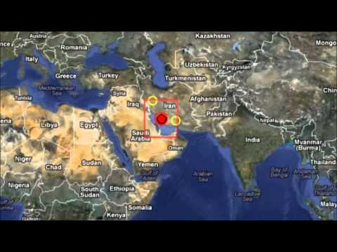 M 6.3 EARTHQUAKE - SOUTHERN IRAN  April 9, 2013