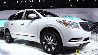 2016 Buick Enclave Tuscan Edition - Turnarond - 2015 New York Auto Show