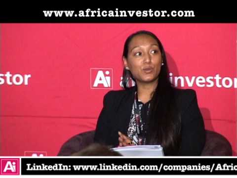 Leigh-Anne Fortuin, Research Manager, CADFund, at the Ai CEO Infrastructure Investment Summit 2013